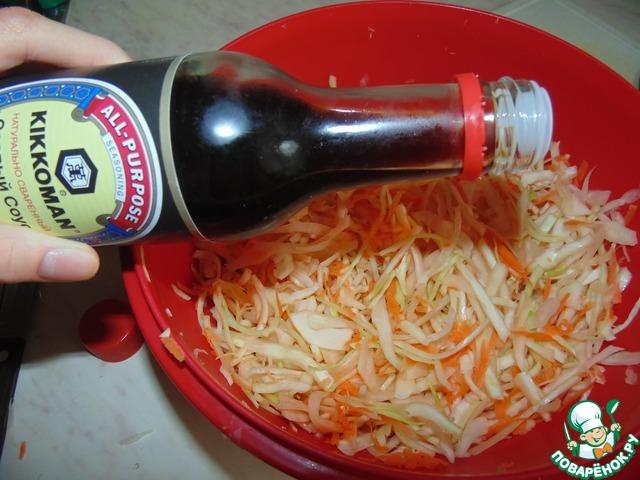 Кисло-сладкий капустный салат вкусный рецепт приготовления с фото пошагово как приготовить #5