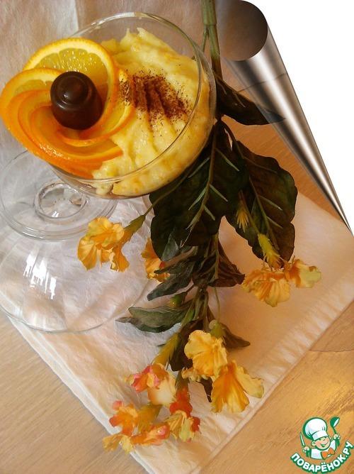 """Как приготовить Апельсиново-шоколадный пудинг """"Дворцовый переворот"""" домашний рецепт приготовления с фотографиями #5"""