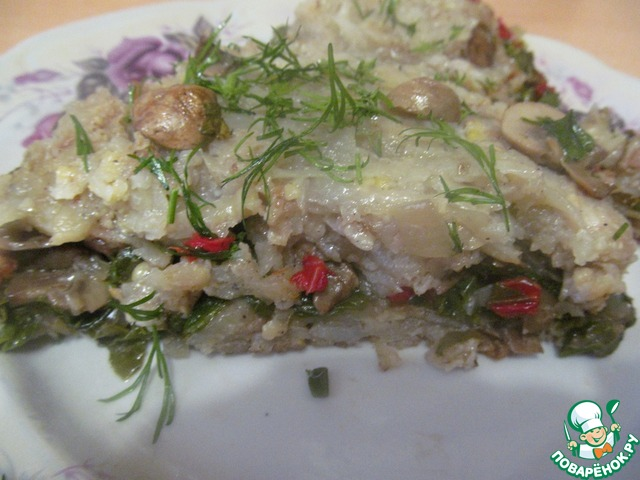 Картофельная запеканка с овощами рецепт с фото как приготовить #5