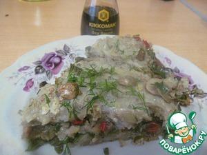 Рецепт Картофельная запеканка с овощами