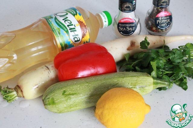 """Салат """"Пробуждение"""" простой рецепт приготовления с фотографиями пошагово готовим #1"""