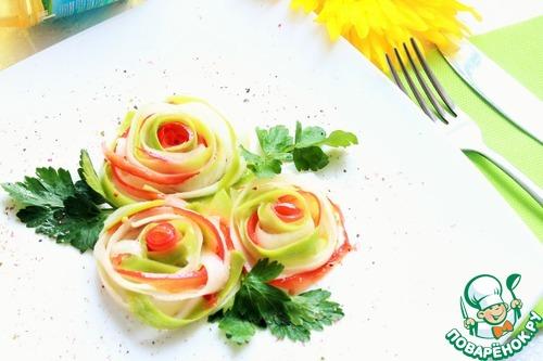 """Салат """"Пробуждение"""" простой рецепт приготовления с фотографиями пошагово готовим #10"""