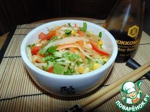 Рецепт Кисло-сладкий капустный салат