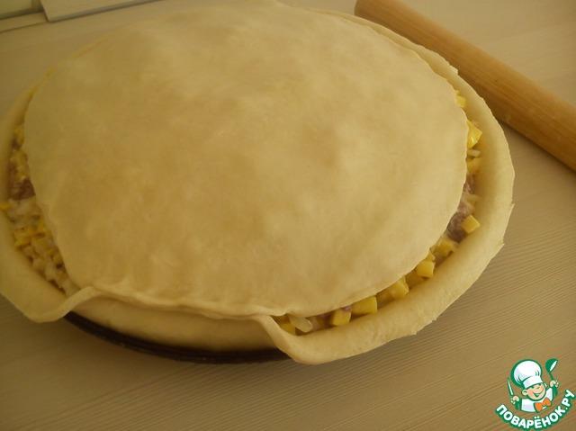 Как приготовить простой рецепт с фотографиями Настоящий татарский балиш #7