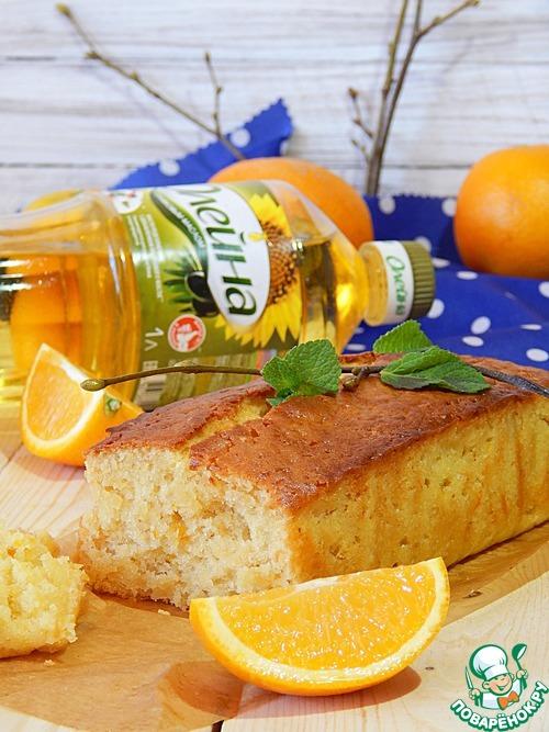 Постный апельсиновый кекс вкусный рецепт приготовления с фотографиями как готовить #9