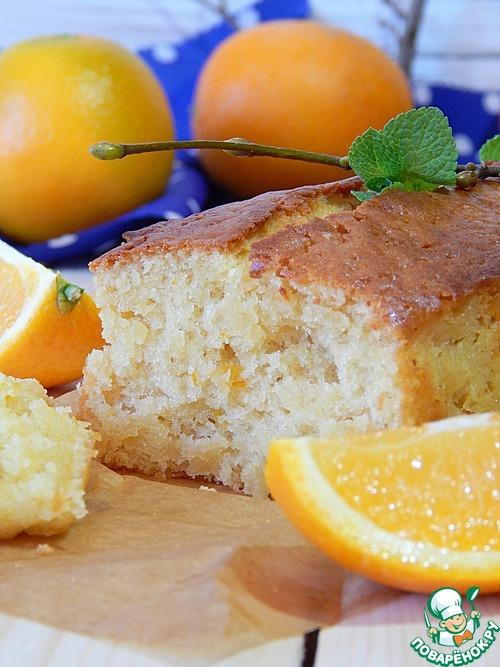 Постный апельсиновый кекс вкусный рецепт приготовления с фотографиями как готовить #10