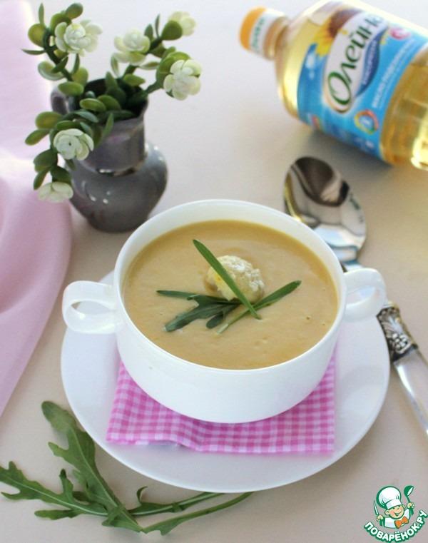 Суп-пюре из цветной капусты вкусный пошаговый рецепт приготовления с фото #7