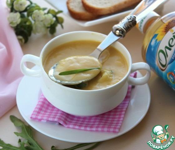 Суп-пюре из цветной капусты вкусный пошаговый рецепт приготовления с фото #8
