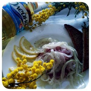 Рецепт Строганина из Пеламиды