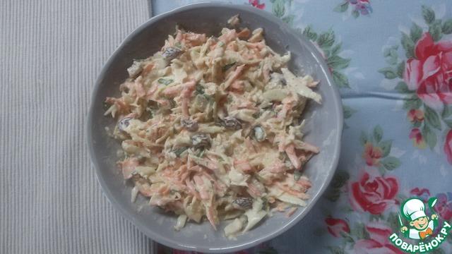 """Как приготовить домашний рецепт приготовления с фото Капустный салат """"Луизианский Кейдженс"""" #4"""