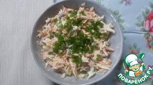 """Рецепт Капустный салат """"Луизианский Кейдженс"""""""