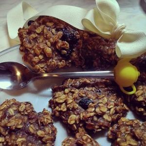 Как приготовить Овсяно-банановое печенье простой рецепт с фото