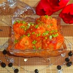 Тефтели в томатно-имбирном соусе