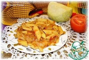 Макароны с овощами и паприкой домашний рецепт приготовления с фотографиями готовим