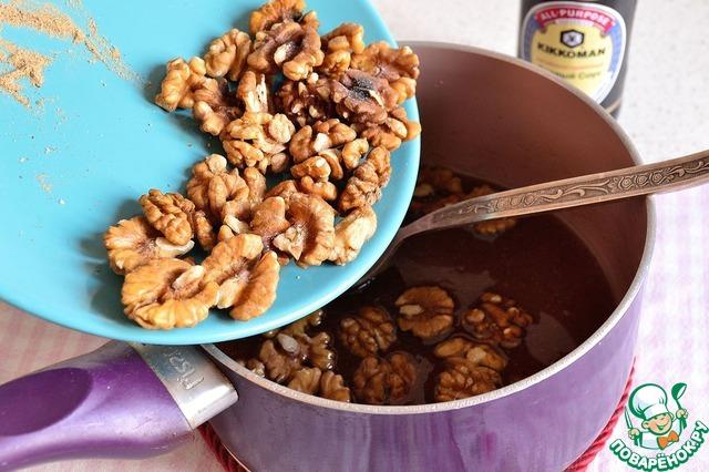 Орехи в пряной глазури простой рецепт приготовления с фотографиями пошагово как приготовить #4