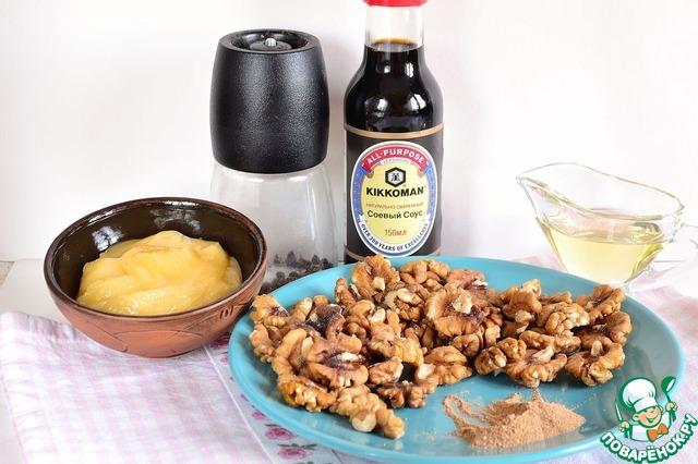 Орехи в пряной глазури простой рецепт приготовления с фотографиями пошагово как приготовить #1