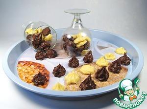 Шоколадная помадка с лимонной цедрой домашний рецепт с фото