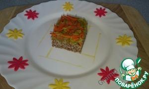 Как готовить Гречка с кабачком домашний рецепт приготовления с фото