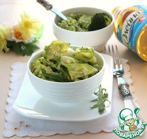 Салат из кабачка с песто вкусный рецепт с фотографиями готовим