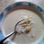 Суп молочный