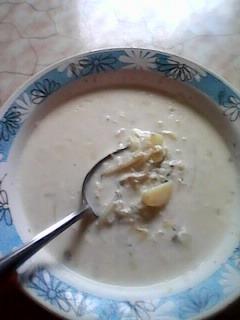 Как готовить вкусный рецепт с фото Суп молочный на Новый Год