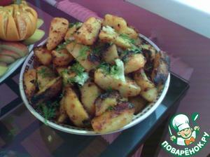 Картошка по-деревенски простой рецепт приготовления с фото пошагово как приготовить