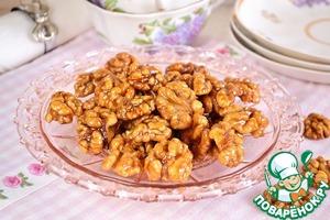 Рецепт Орехи в пряной глазури