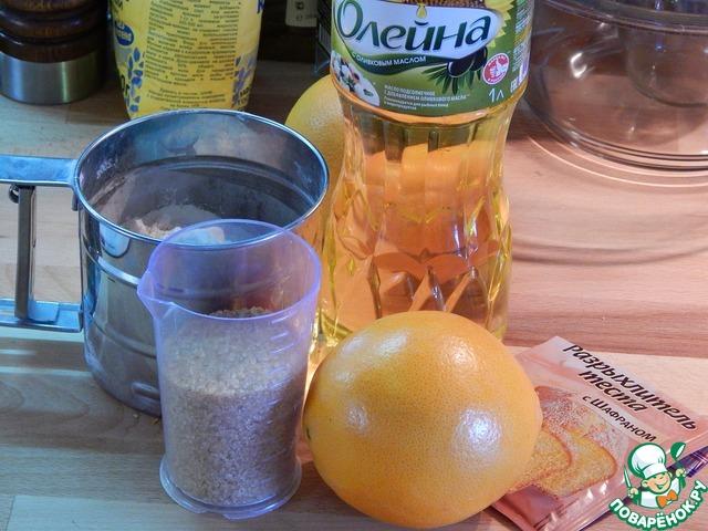Постный апельсиновый кекс вкусный рецепт приготовления с фотографиями как готовить #1