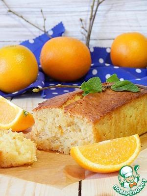 Постный апельсиновый кекс вкусный рецепт приготовления с фотографиями как готовить на Новый Год