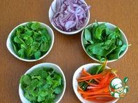 Тайский салат с говядиной ингредиенты
