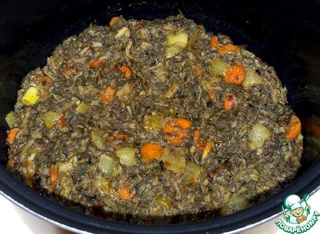 Готовим Грибы с картофелем в мультиварке простой рецепт с фотографиями пошагово #3