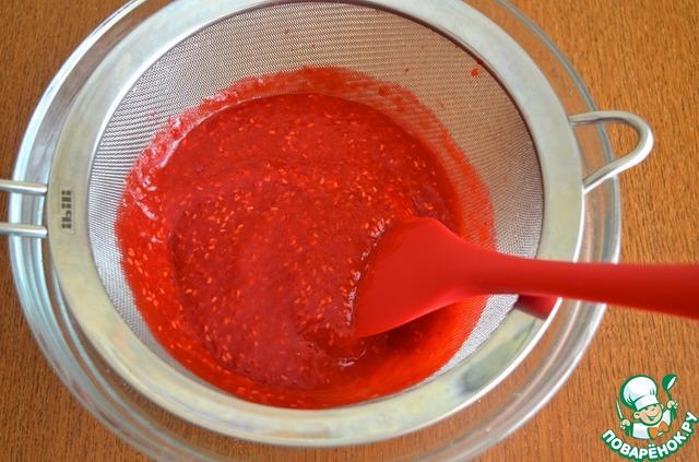 Как приготовить Малиновая панна-котта с клубничным соусом рецепт приготовления с фотографиями пошагово #2