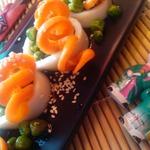 Теплый салат в азиатском стиле