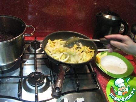 Кальмары с жареной картошкой домашний рецепт приготовления с фото пошагово как приготовить #3