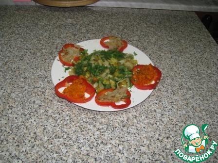 Кальмары с жареной картошкой домашний рецепт приготовления с фото пошагово как приготовить #5