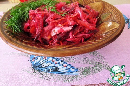 Русский салат на корейский лад вкусный рецепт с фото пошагово как приготовить #13