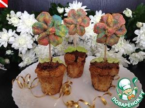Цветочки для Золушки пошаговый рецепт с фото как приготовить