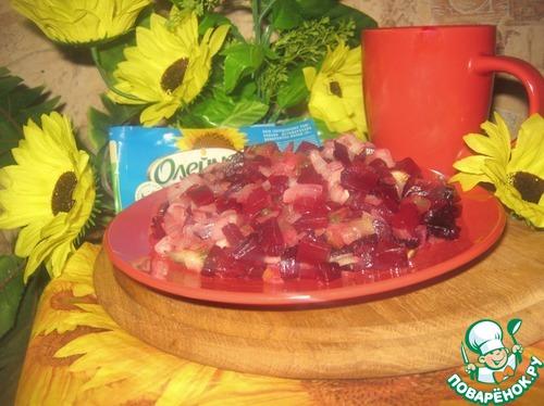 "Салат ""Наоборот"" рецепт приготовления с фото пошагово готовим #8"