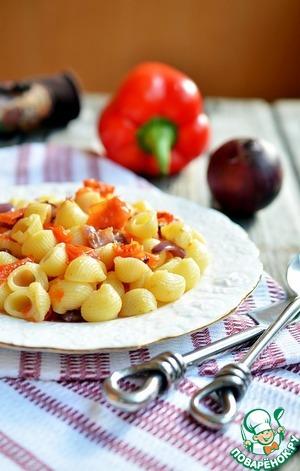 Паста рататулли с запечёнными овощами домашний рецепт приготовления с фото пошагово готовим
