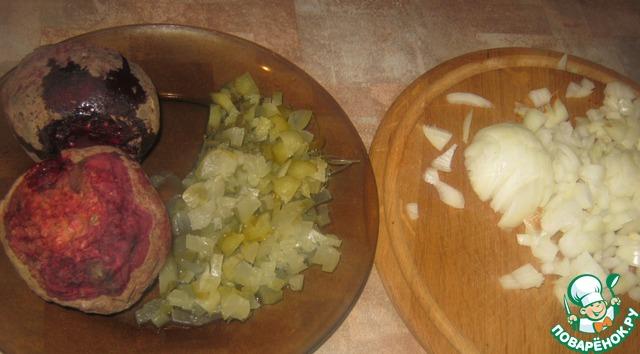 "Салат ""Наоборот"" рецепт приготовления с фото пошагово готовим #2"
