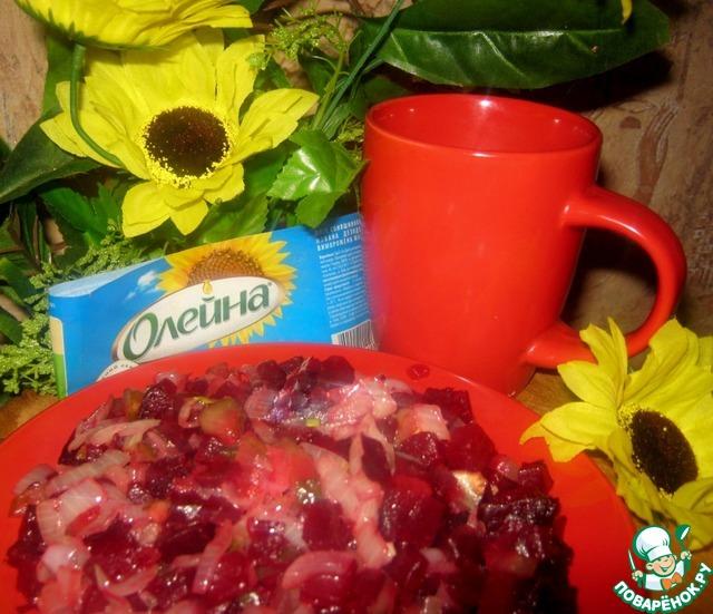 "Салат ""Наоборот"" рецепт приготовления с фото пошагово готовим #7"