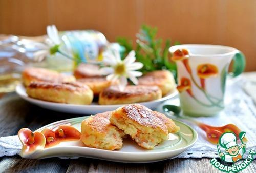 Как готовить Творожники с морковью и яблоком вкусный рецепт приготовления с фотографиями #7