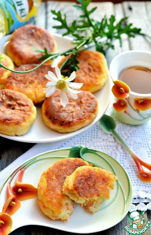 Как готовить Творожники с морковью и яблоком вкусный рецепт приготовления с фотографиями #8