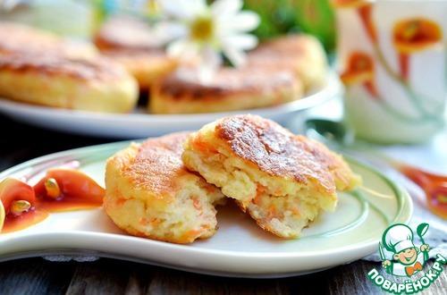 Как готовить Творожники с морковью и яблоком вкусный рецепт приготовления с фотографиями #9