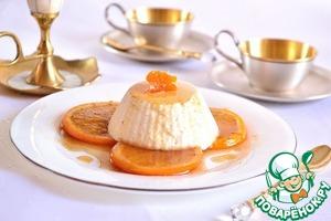 Рецепт Суфле из йогурта с пряными апельсинами