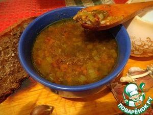 Рецепт Шотландский чечевичный суп