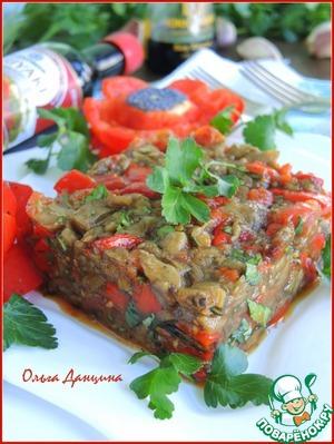 Рецепт Икра из запеченных овощей