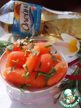 Пряная морковь бейби пошаговый рецепт приготовления с фотографиями #7