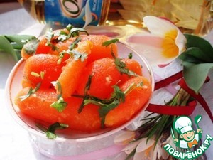 Рецепт Пряная морковь бейби