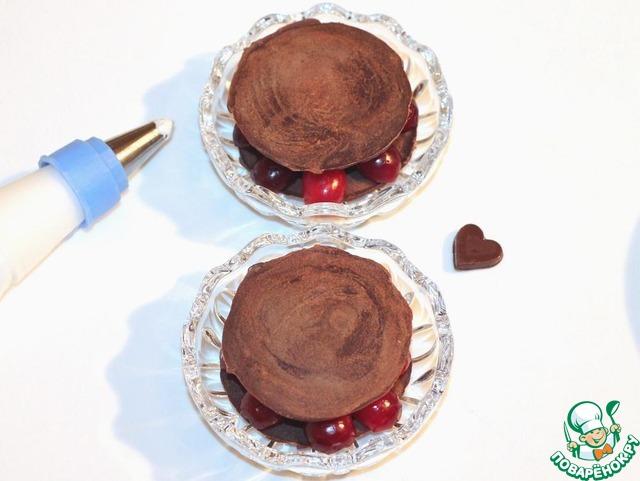 """Как готовить простой рецепт приготовления с фотографиями Пирожное """"Сказка"""" #7"""